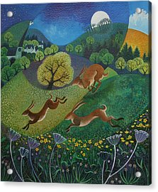 The Joy Of Spring Acrylic Print by Lisa Graa Jensen