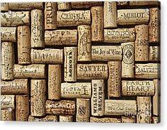 The Joy Of Wines Acrylic Print by Anthony Jones