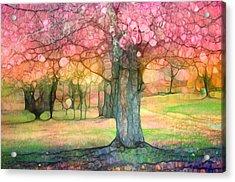 The Joyous Trees Acrylic Print