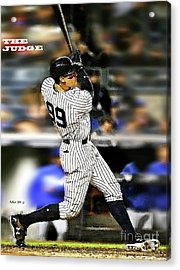 The Judge, Aaron Judge, Number 99, New York Yankees Acrylic Print