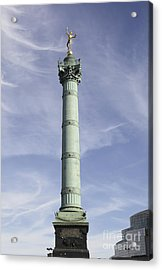 The July Column In Paris, France Acrylic Print