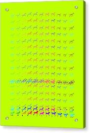 The Jumper Print Acrylic Print by Bates Clark