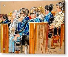 The Jury Acrylic Print