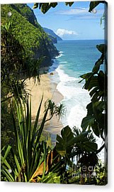 The Kalalau Trail Of Kauai Acrylic Print