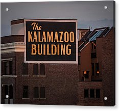 The Kalamazoo Building Acrylic Print
