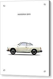 The Karmann Ghia Acrylic Print