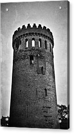 The Keep At Nenagh Castle In Nenagh Ireland Acrylic Print