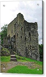 The Keep - Peveril Castle Acrylic Print