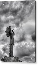 The Keeper Acrylic Print by JC Findley