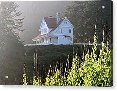 The Keepers House 2 Acrylic Print by Laddie Halupa