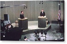 The Kennedy-nixon Debate Acrylic Print