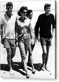 The Kennedys, Robert, Jackie, Ethel Acrylic Print by Everett