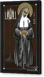 The Kenosis Of St Bernadette Of Lourdes 063 Acrylic Print