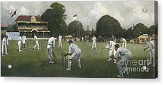 The Kent Eleven Champions, 1906 Acrylic Print by Albert Chevallier Tayler