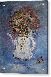 The Kettle Vase Acrylic Print by Edward Wolverton