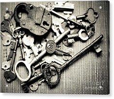 Acrylic Print featuring the photograph The Key To Love by Ana V Ramirez