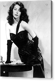 The Killers, Ava Gardner, 1946 Acrylic Print