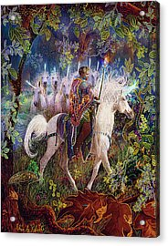 The King And I Acrylic Print by Steve Roberts
