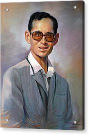 The King Bhumibol Acrylic Print