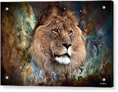 The King Acrylic Print by Bill Stephens
