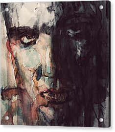 The King Acrylic Print by Paul Lovering