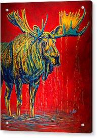 The King Acrylic Print