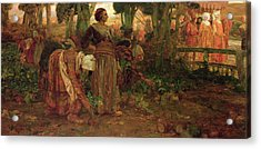 The King's Daughter Acrylic Print by Arthur A Dixon