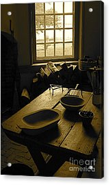 Acrylic Print featuring the photograph The Kitchen by Nicola Fiscarelli