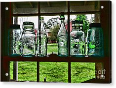 The Kitchen Window Acrylic Print by Paul Ward
