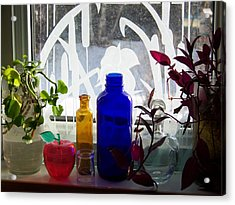 The Kitchen Window Sill Acrylic Print