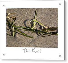 The Knot Acrylic Print by Peter Tellone