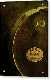 The Konvalinka Music Box Acrylic Print by Rebecca Sherman