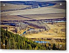 The Kootenai Valley Acrylic Print