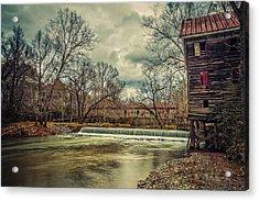 The Kymulga Mill Acrylic Print by Phillip Burrow