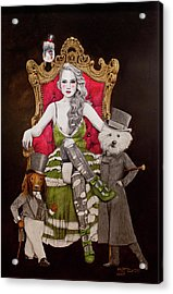 The Lady Of Erstwhile And The Royal Guard Acrylic Print