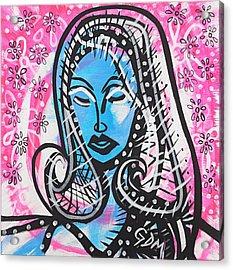 The Lady Waits Acrylic Print by Gdm