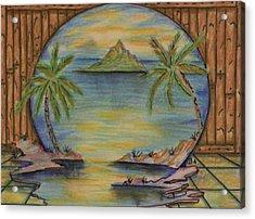 The Lagoon Acrylic Print