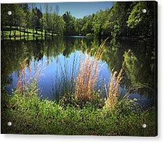 The Lake At Musgrove Mill Acrylic Print