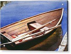 The Lake Boat Acrylic Print