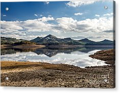 The Lake Acrylic Print by Giuseppe Torre
