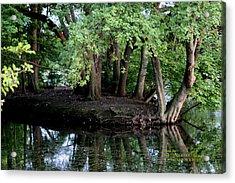 The Lake Acrylic Print by Paul SEQUENCE Ferguson             sequence dot net