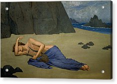 The Lamentation Of Orpheus Acrylic Print by Alexandre Seon