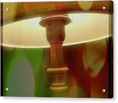 The Lamp Acrylic Print by Contemporary Art