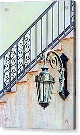 The Lamp Acrylic Print by Pat Carosone
