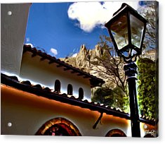 The Lamp Post Acrylic Print by Francisco Colon