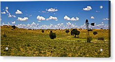 The Land Of The Free Acrylic Print by Basie Van Zyl