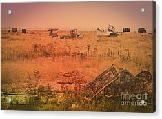 The Landscape Of Dungeness Beach, England 2 Acrylic Print