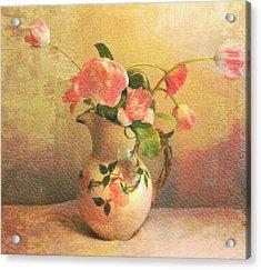 The Language Of Flowers Acrylic Print by Kathy Bucari