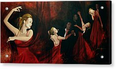 The Last Dance Acrylic Print by Dorina  Costras