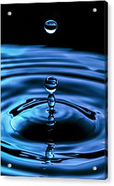 The Last Drop Acrylic Print